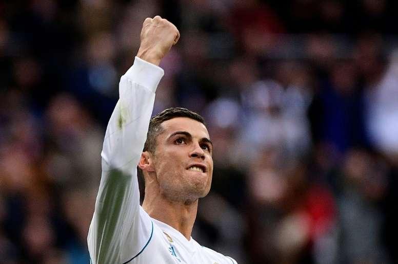 Cristiano Ronaldo llega en buena forma al 'Clásico'. AFP