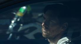 Messi, frustrado por el COVID-19. AFP