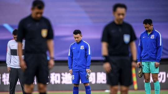 Wuhan Zall won 2-0 on the opening day of the Chinese league season. AFP