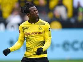 O Dortmund bateu o Hannover 96 por 1-0. AFP