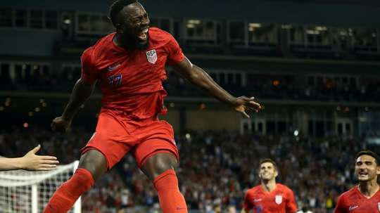 The US is almost guaranteed a spot in the next round of the Gold Cup. AFP