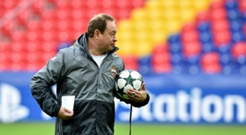 Leonid Slutsky will leave after the Champions League match with Tottenham Hotspur. AFP