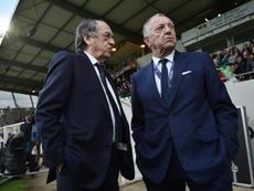 Lyon have defended him. AFP