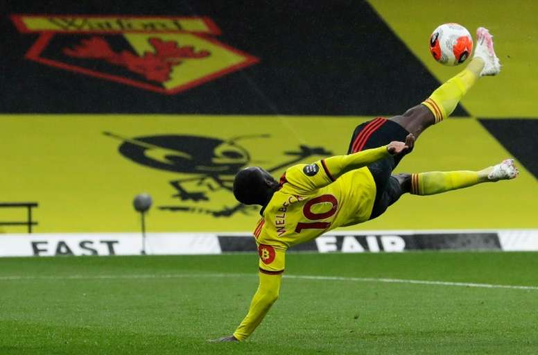Watford beat Norwich. AFP