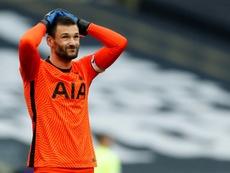 Tottenham drew 1-1. AFP