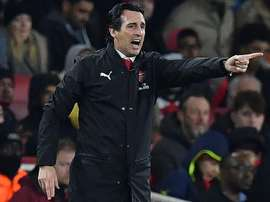 Emery's side will progress to the knockout stages with a win. AFP