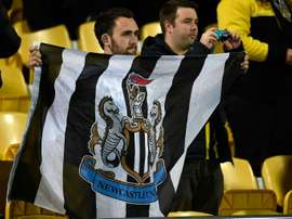 Newcastle fans are not happy with their ownership. AFP
