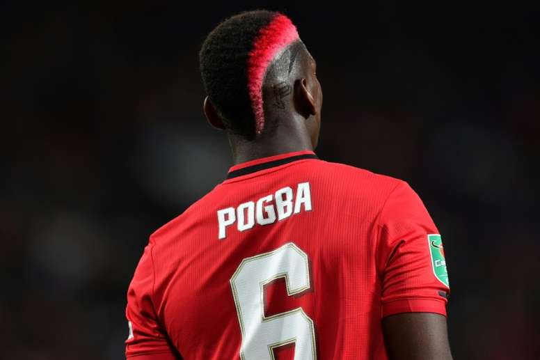 Pogba could leave United next summer. AFP