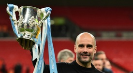 Guardiola's mother dies after contracting virus. AFP