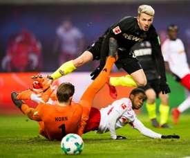 Leipzig vise un retour de Lookman. AFP