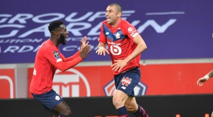 Lille are top of Ligue 1. AFP