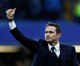 Lampard is embarking on a managerial career. AFP