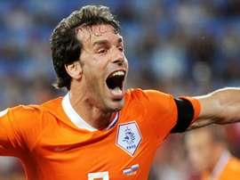 Van Nisterooy retrouve la sélection pour l'Euro 2020. AFP