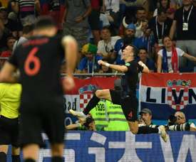 Perisic grabbed the winner for Croatia. Captura