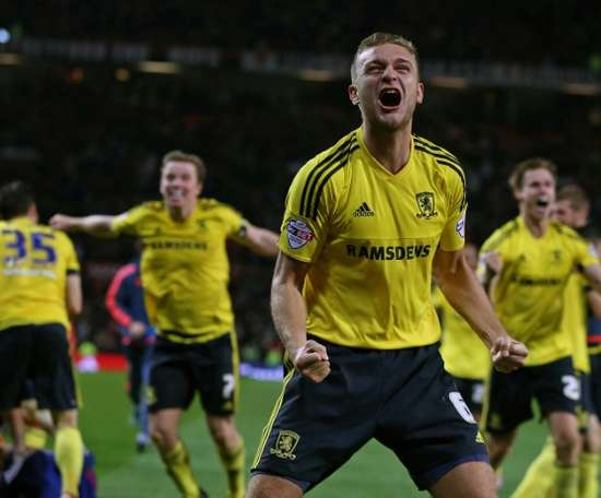 Ben Gibson has had limited game time since moving from Middlesbrough. AFP