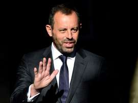 Rosell is charged with money laundering. AFP