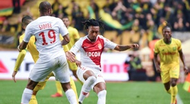 Gelson Martins (centre) is just one of many new signings at Monaco. AFP