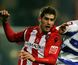 Wales international footballer Ched Evans. AFP