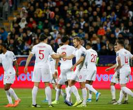 England men's team make 'significant donation' to NHS. AFP
