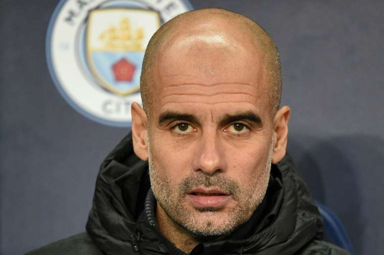 Guardiola says Man City cannot afford to lose any more games. AFP