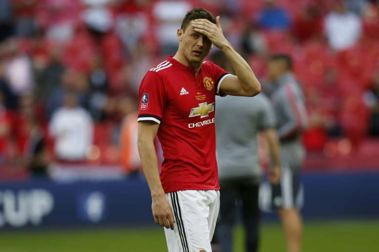Matic has urged United to improve and quickly. AFP