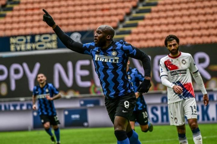 L'Inter s'active déjà pour dénicher le successeur de Lukaku. AFP