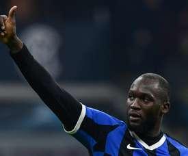 Lukaku regala la vittoria all'Inter. AFP
