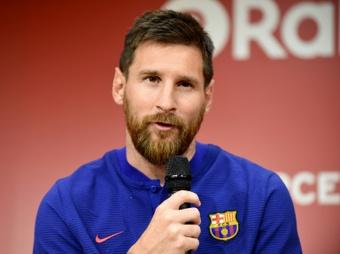 Las mejores acciones de Messi cuando solo era un niño. AFP