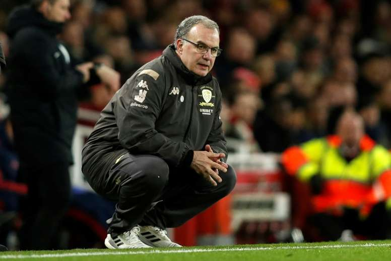Marcelo Bielsa has agreed to stay at Leeds United for the 2020/21 season. AFP