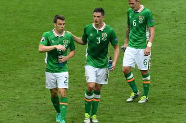 Coleman and Clark pictured at Euro 2016. AFP