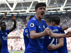 Maguire is set to complete move to Man United. AFP