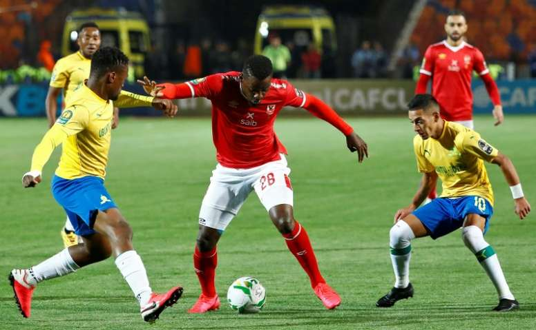 Ahly defender Maaloul rediscovers scoring touch to sink Sundowns
