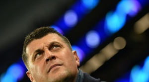 Vladan Milojevic has surprisingly stepped down as Red Star Belgrade coach. AFP