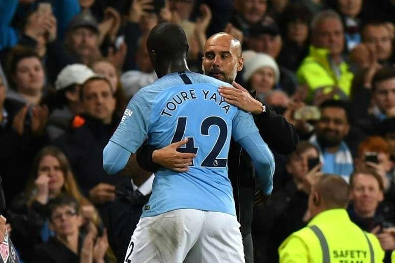 Para Yaya Touré, su mejor etapa fue en el City. AFP