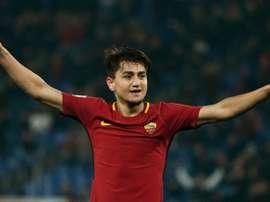 La Roma ganó en su visita al Parma. AFP