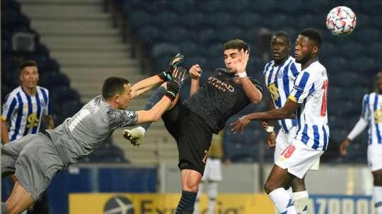 Man City hit back at Porto's complaints. AFP