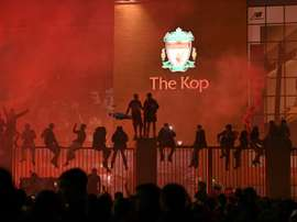 Anfield is difficult for Arsenal. AFP