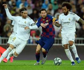 Barcelona and Real Madrid will play in the first 'Clásico' of the season. AFP