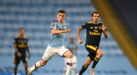 Phil Foden admits it is much better playing in front of spectators. AFP