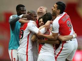 Monaco beat Bordeaux 2-1 at home.