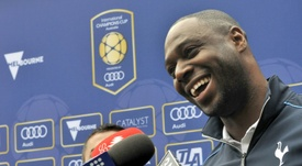 Ledley King vuelve al Tottenham. AFP/Archivo
