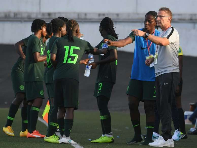 Nigeria head coach Thomas Dennerby coached his home nation Sweden between 2005-2012. AFP