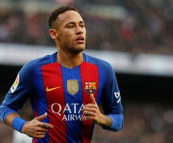 If only Real Madrid had paid Neymar's agent £60,000. AFP