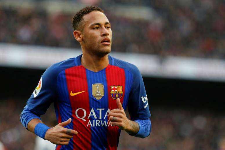 Neymar has been named the most valuable footballer in the world. AFP