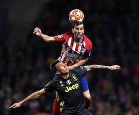 Atletico clinched a 2-0 victory in the first-leg. AFP