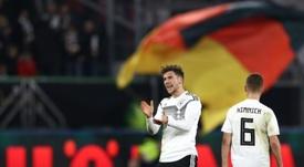 Goretzka strike salvages a draw for new-look Germany