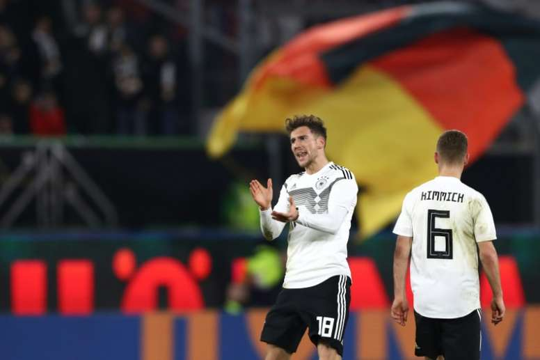 Goretzka strike salvages a draw for new-look Germany