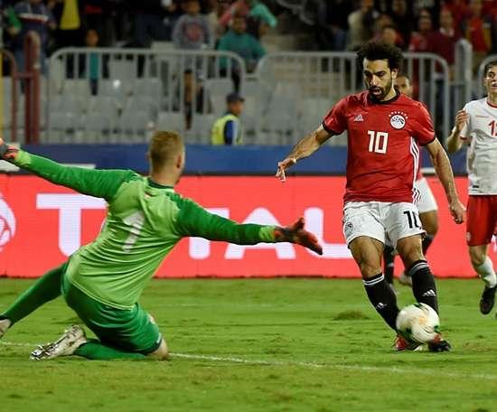 Salah también está aumentando su leyenda en su país. AFP