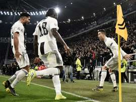 Cristiano Ronaldo accumule les records en Ligue des champions. AFP