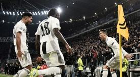 Cristiano aurait poussé Kean à quitter Juventus. AFP